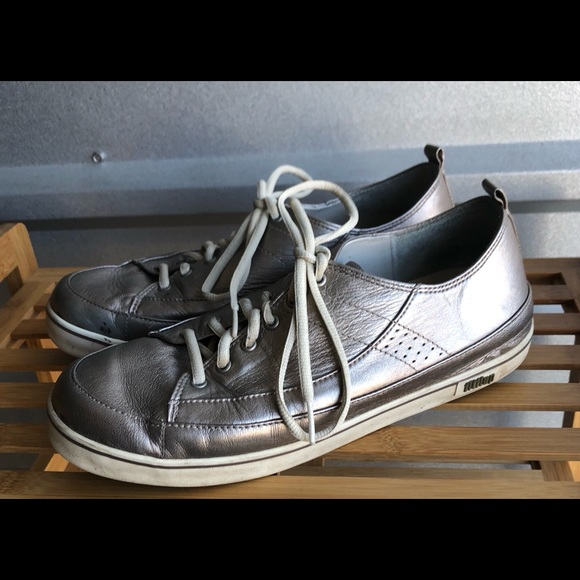 8056cac87f8 Fitflop Shoes - FitFlop Supertone Pewter Metallic Silver Leather
